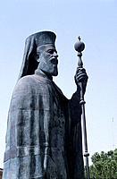 Chypre _ Nicosie _ Archeveque _ Presidentient Makarios