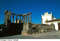 Portugal _ Evora _ Temple
