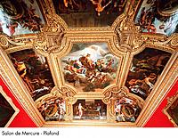 Palace of Versailles _ Salon de Mercure _ Ceiling