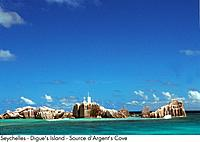 Seychelles - Digue's Island - Source d'Argent's Cove (thumbnail)