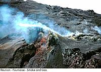 Reunion _ Fournaise _ Smoke and Gas