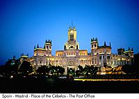 Spain _ madrid _ Place of the Ce beles _ post Spain