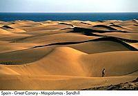 Spain _ Great Canary _ Maspalomas _ Sandhill Spain