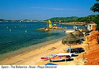 Spain _ The Balearics _ Ibiza _ Playa Descanar Spain