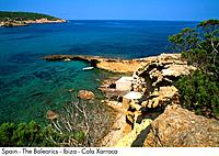 Spain _ The Balearics _ Ibiza _ Cala Xarraca Spain
