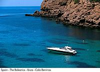 Spain _ The Balearics _ Ibiza _ Cala Benirras Spain