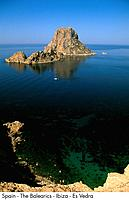 Spain _ The Balearics _ Ibiza _ Es Vedra Spain