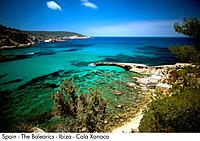 Spain _ The Balearics _ Ibiza _ Cala Xanaca Spain