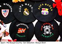 Spain _ The Basque Country _ San Sebastian _ Basque Beret Spain
