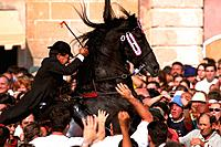 Spain _ The Balearics _ Minorca _ Ciudadela _ Horse Festival