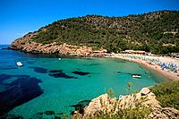 Spain _ The Balearics _ Ibiza _ Cala Benirras