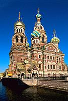 Russia _ St Petersburg _ Resurrection of Christ Church