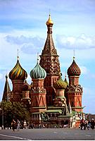 Russia _ Moscow _ Red Place _ St Basile the Blessed Basilica