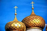 Russia _ kostroma _ Gold Dome Of St Ipatieu