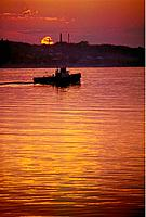 Russia _ The Volga _ Sunset