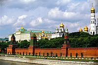 Russia _ Moscow _ The Kremlin _ The Great Palace and the Cathedrals