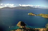 French Caribbean _ Caribbean Islands _ Les Saintes _ Terre de Haut _ The Sugar Loaf