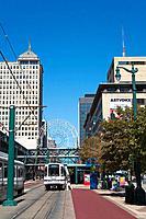 Buffalo Place, Downtown Buffalo, New York State, USA