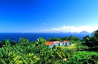French Caribbean _ Caribbean Islands _ Guadeloupe _ Basse Terre _ Trois Riviere