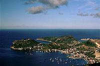 French Caribbean _ Caribbean Islands _ Les Saintes _ Terre de Haut _ The Burg