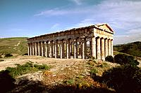 Italy _ Sicily _ Segeste _ Temple