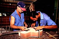Cuba _ The Havana _ Music Instruments Factory