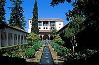 Alhambra, Grenada, Andalusia, Spain