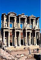 Turkey _ Mediterranean Coast _ Izmir Region _ Selcuk _ Epheze _ The Celsus' Library