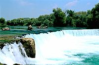 Turkey _ Mediterranean Coast _ Antalya Region _ Side _ Manavgat Falls