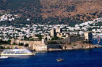 Turkey _ Mediterranean Coast _ Mugla Region _ Bodrum _ St Peter Castle