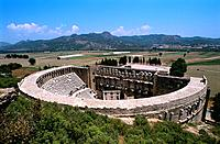 Turkey _ Mediterranean Coast _ Antalya Region _ Aspendos Theatre