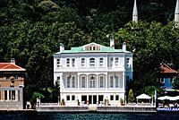 Turkey _ Istanbul _ Bosphorus Strait _ Elegant Yali _ Wooden house