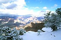 USA _ National Park _ Arizona _ Grand Canyon _ Hiver