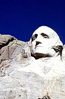 USA _ National Park _ Mount Rushmore _ President Washington