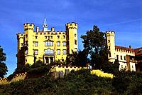 Germany _ Bavaria _ Hohenschwangau Castle