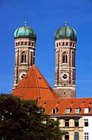 Germany _ Munich _ Frauenkirche