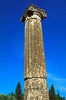 Greece _ The Pelonnese _ Olympia _ Palestra _ Ionic Column