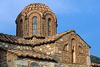 Greece _ Peloponnese _ Gevaki _ St Athanaze Chapel