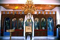 Greece _ Central Greece _ Deofina _ Iconostase Chapel