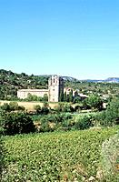 Aude _ Pays Cathare _ Abbaye de Lagrasse