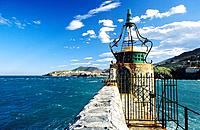 France _ Pyrenees Orientales _ Collioure _ Phare