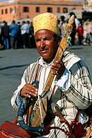 Morocco _ Marrakech _ Djemaa el Fna square _ Musician