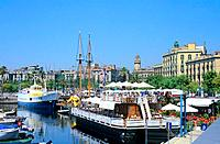 Spain _ Barcelona _ The port _ La marina