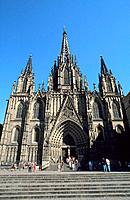 Spain _ Barcelona _ Le Barri Gotic _ The Cathedral