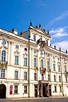 Czech Republic - Prague - Hradcany Prague 1 District - Hradcansk Square - Archiepiscopal Palace (thumbnail)