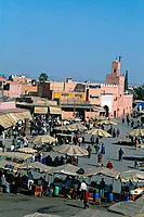Morocco _ Marrakech _ Djemaa el Fna square