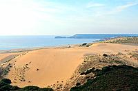 Italy _ Sardinia _ West Coast Region _ Cabras _ Dunes