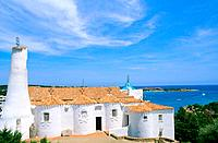 Italy _ Sardinia _ North Region _ East _ Costa Smeralda _ Porto Cervo _ Stella Maris Church