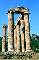 Italy _ Sardinia _ South Region _ Fluminimaggiore _ Temple of Antas