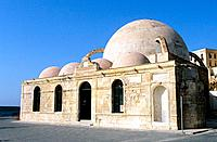 Greece _ Crete _ Mosque of Janissaires Hania